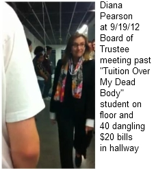 Pearson at BOT meeting